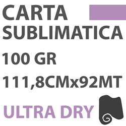 Carta per sublimazione TransPaper Ultra Dry 100g 111,8 cm x92mt