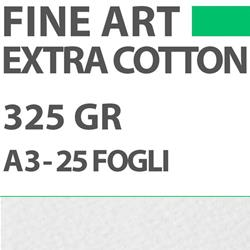 Carta DigiPaper Fine Art Extra Cotton Textured 325gr A3 25Fg