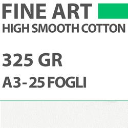 Carta DigiPaper Fine Art High Smooth Cotton 325gr A3 25Fg