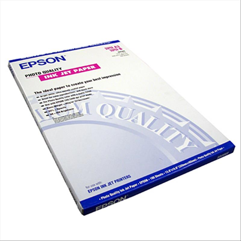 Carta Epson Hot Press Bright Paper A2 25Fg