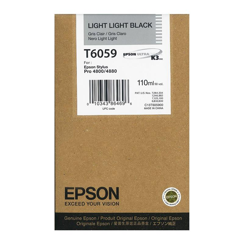 Cartuccia Nero Light Light 110ml per Epson StylusPro 4800/4880