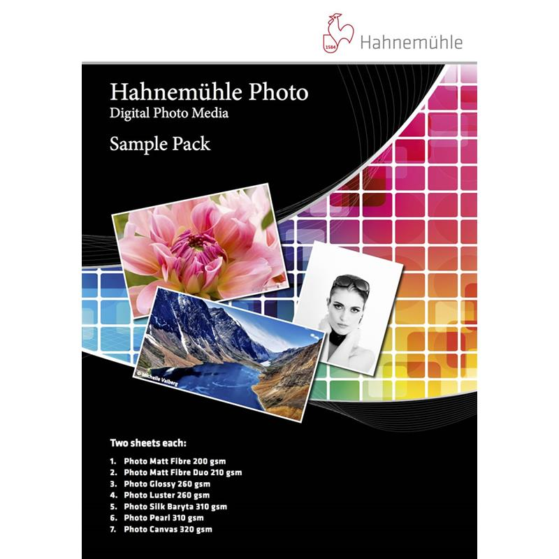 Hahnemuhle Photo - Sample Pack A3+